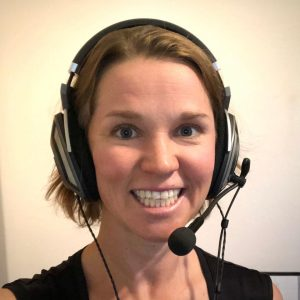 Dr Laura Peterson Wright, host of Health in the Hole Podcast